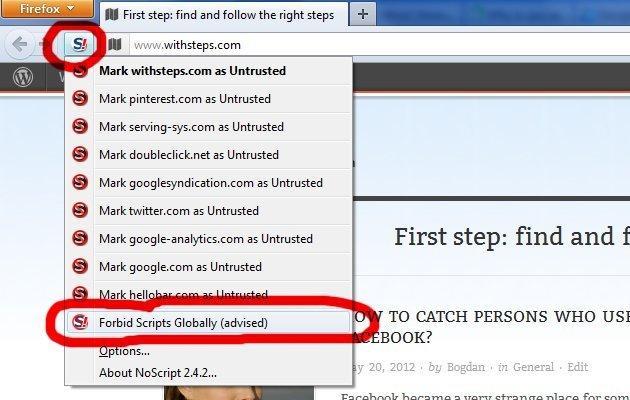 Noscript для Firefox скачать - фото 4