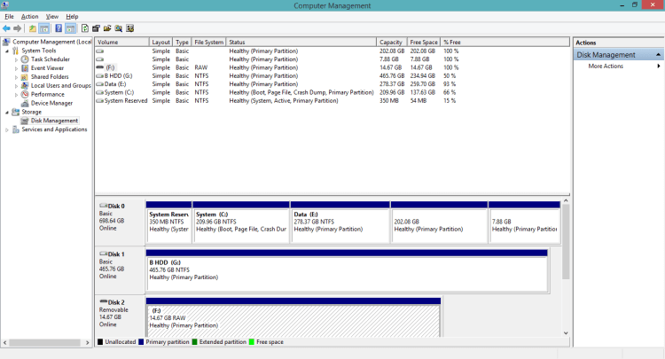 1gb after format9